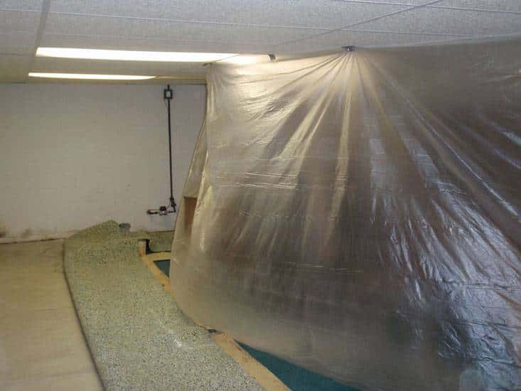garret basement waterproofing gallery in akron ohiogarrett basement